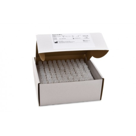 NaCl 0.45% 3ml - 100 tubes